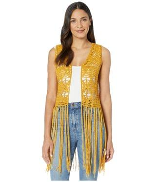 Women's Vest 49V4456. By Rock and Roll Cowgirl. 49.50. Style Mustard.