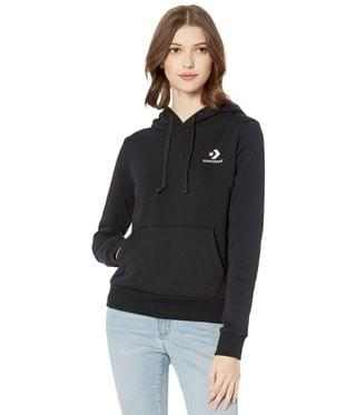 WOMEN Embroidered Fleece Pullover Hoodie. By Converse. 42.99. Style Black.