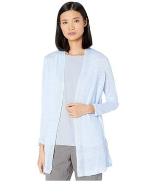WOMEN Lightweight Long Back Of The Chair Cardigan. By NIC+ZOE. 118.00. Style Light Sky.