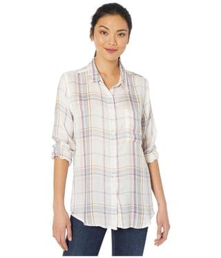 Women's Denim Friendly Surfer Plaid Long Sleeve Button-Up Shirt. By Dylan by True Grit. 68.71. Style Vintage White.