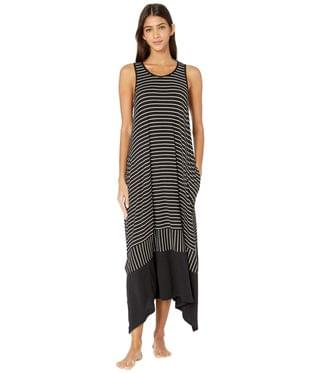 WOMEN Modal Spandex Jersey Long Gown. By Donna Karan. 59.99. Style Black Stripe. Rated 5 out of 5 stars.