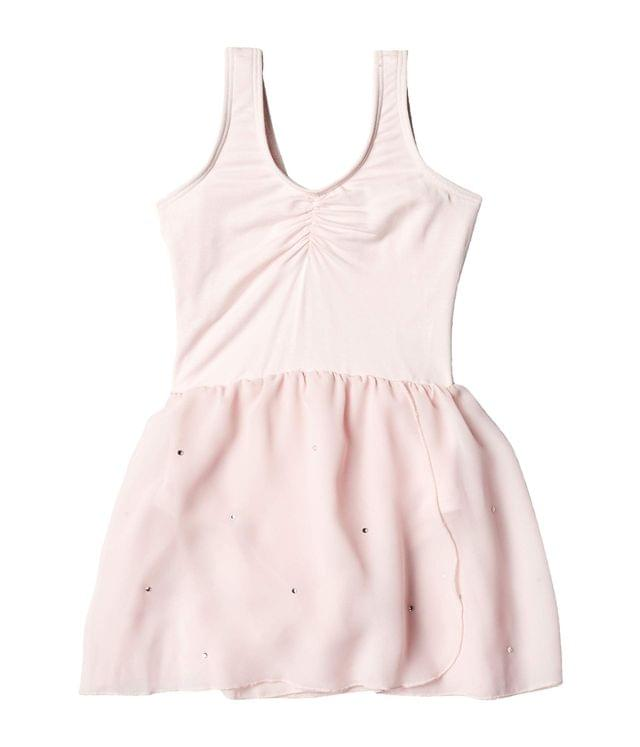 KIDS Sparkle Skirted Leotard (Little Kids). By Flo Active. 34.95. Style Pink.
