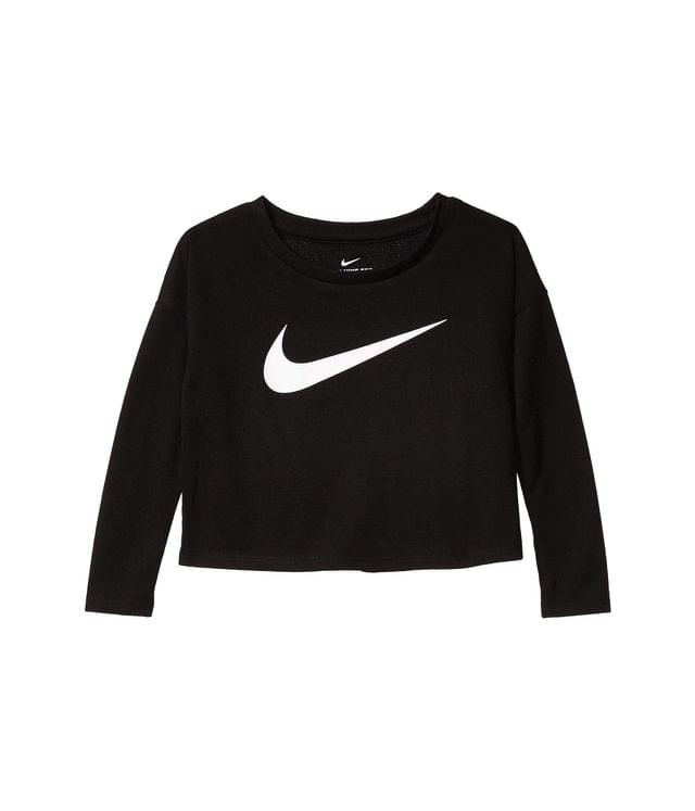 Girl's Awesome Long Sleeve Graphic Top (Toddler). By Nike Kids. 28.00. Style Black.