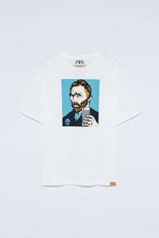 MEN VAN GOGH TV BOY T-SHIRT