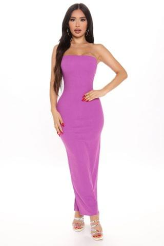 WOMEN Party In The Back Maxi Dress - Magenta