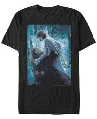 MEN Harry Potter Men's Goblet of Fire Hagrid and Madame Maxime Poster Short Sleeve T-Shirt