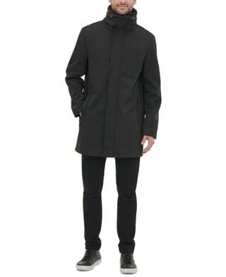 MEN Men's Soft Shell Utility Jacket with Convertible Hood