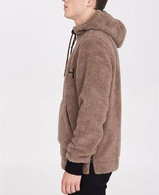 MEN Sherpa Corp Hoodie with Bench Logo
