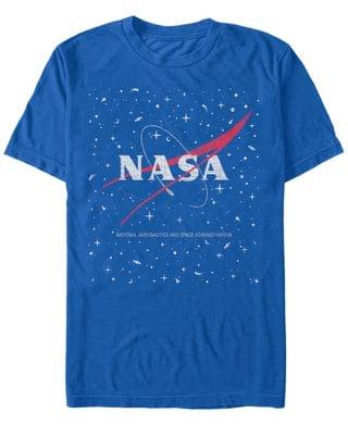 MEN NASA Men's Star Base Logo Short Sleeve T- shirt