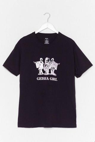 WOMEN Geisha Girl Graphic Tee