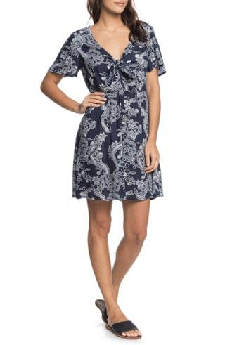 WOMEN Roxy Summer on Top Knot Front Dress