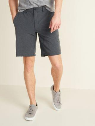 MEN Slim Go-Dry Shade StretchTech Shorts for Men -- 10-inch inseam