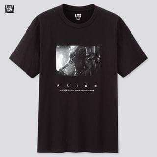 MEN Sci-Fi Movie Collection Ut Alien (Short-Sleeve Graphic T-Shirt)