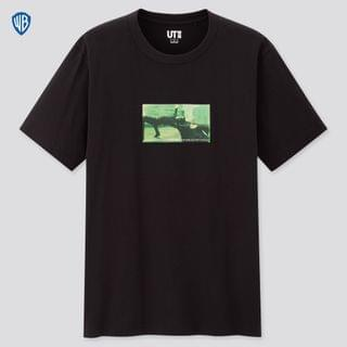 MEN Sci-Fi Movie Collection Ut The Matrix (Short-Sleeve Graphic T-Shirt)