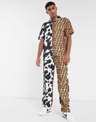 Chinatown Market Animal all-over print lightweight pants in multi