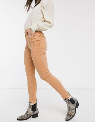 WOMEN We The Free by Free People wild child skinny jean in peach