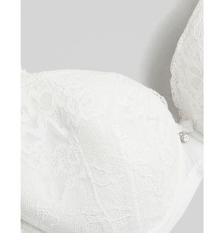 WOMEN Ann Summers Plus Size Sexy Lace plunge bra in white