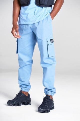 MEN Cargo Pants With Woven Tab Detail