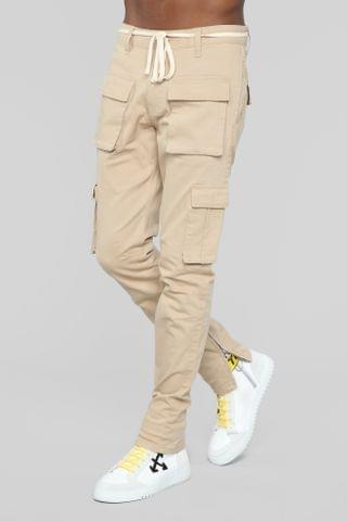 MEN Hunter Cargo Pants - Khaki