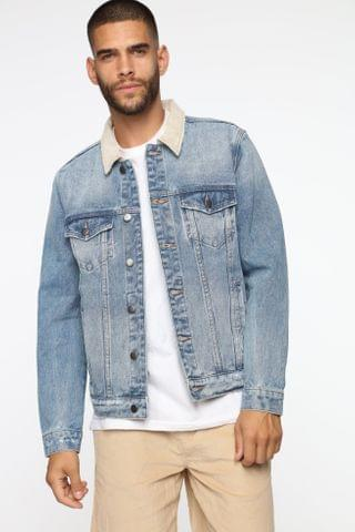 MEN Judd Denim Jacket - MediumWash