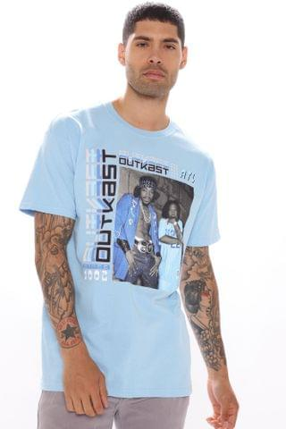 MEN Classic Outkast Short Sleeve Tee - Blue/Combo
