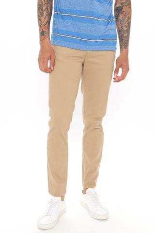 MEN Work From Home Twill Pants - Khaki