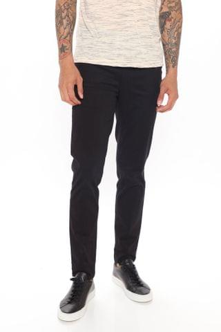 MEN Work From Home Twill Pants - Black