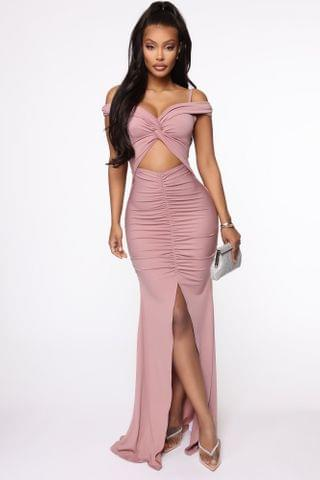 WOMEN Upon My Arrival Maxi Dress - Dark Lavender