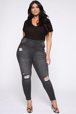 WOMEN Need A Pick Me Up Ultra High Rise Jeans - Black