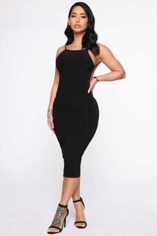 WOMEN New Muse Midi Dress - Black