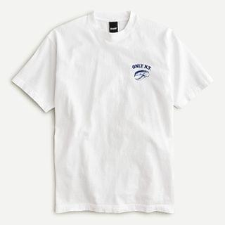 """MEN Only NY """"Seafood Market"""" T-shirt"""