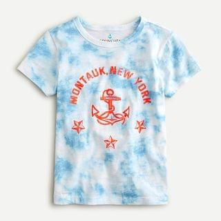 "KIDS Kids' tie-dyed ""Montauk, New York"" T-shirt"