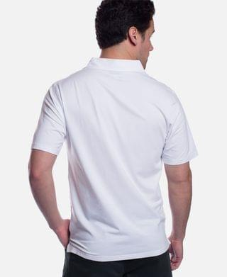 MEN Men's Classic Fit Viscose from Bamboo Polo Shirt