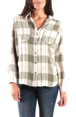 WOMEN Kut from the Kloth Hannah Button Down Plaid Shirt