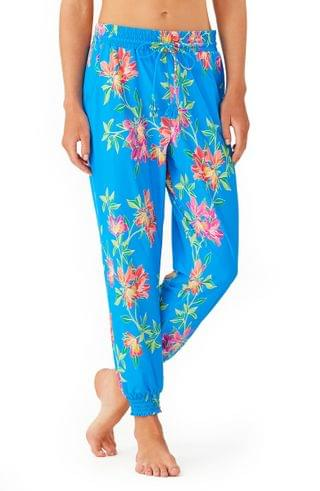 WOMEN Tommy Bahama Sun Lilies Cover-Up Jogger Pants