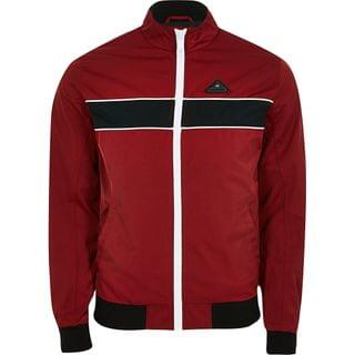 MEN MCMLX red colour blocked track jacket