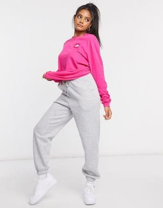 WOMEN The North Face Box long sleeve t-shirt in pink