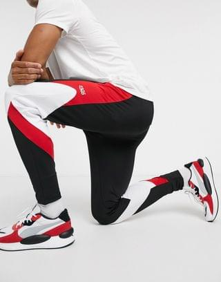 4505 super skinny sweatpants with contrast panels