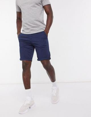 Jack & Jones Intelligence chino short in navy