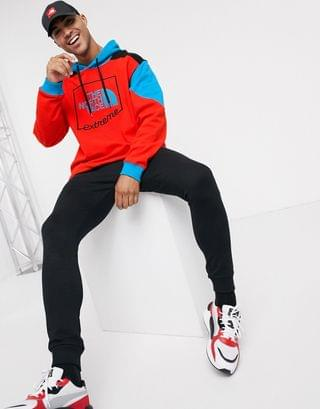 The North Face Extreme hoodie in red
