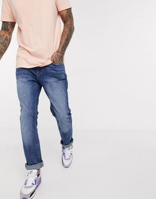 New Look slim jeans in washed blue