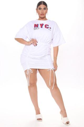 WOMEN The Marvelous New York Mini Dress - White