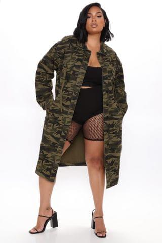 WOMEN Ready For Duty Shirt Jacket - Camouflage