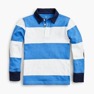 KIDS Kids' rugby shirt with elbow patches