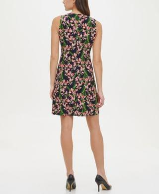 WOMEN Amazon Floral-Print A-Line Dress
