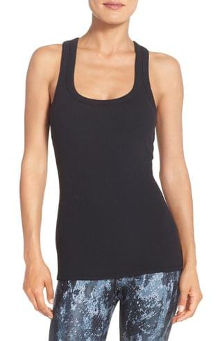 WOMEN Alo Support Ribbed Racerback Tank