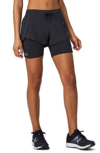 WOMEN New Balance Impact 2-in-1 Running Shorts