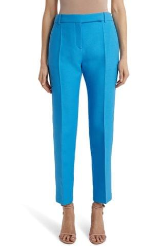 WOMEN Valentino High Waist Tapered Ankle Pants