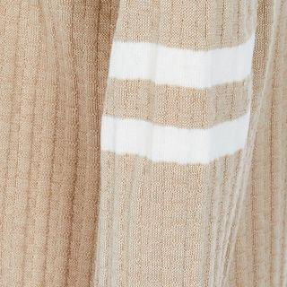 KIDS Boys beige stripe cardigan