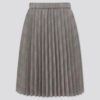 KIDS Girls Pleated Checked Skirt